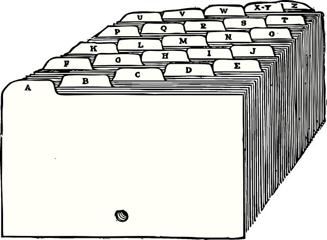 archiver les documents administratifs